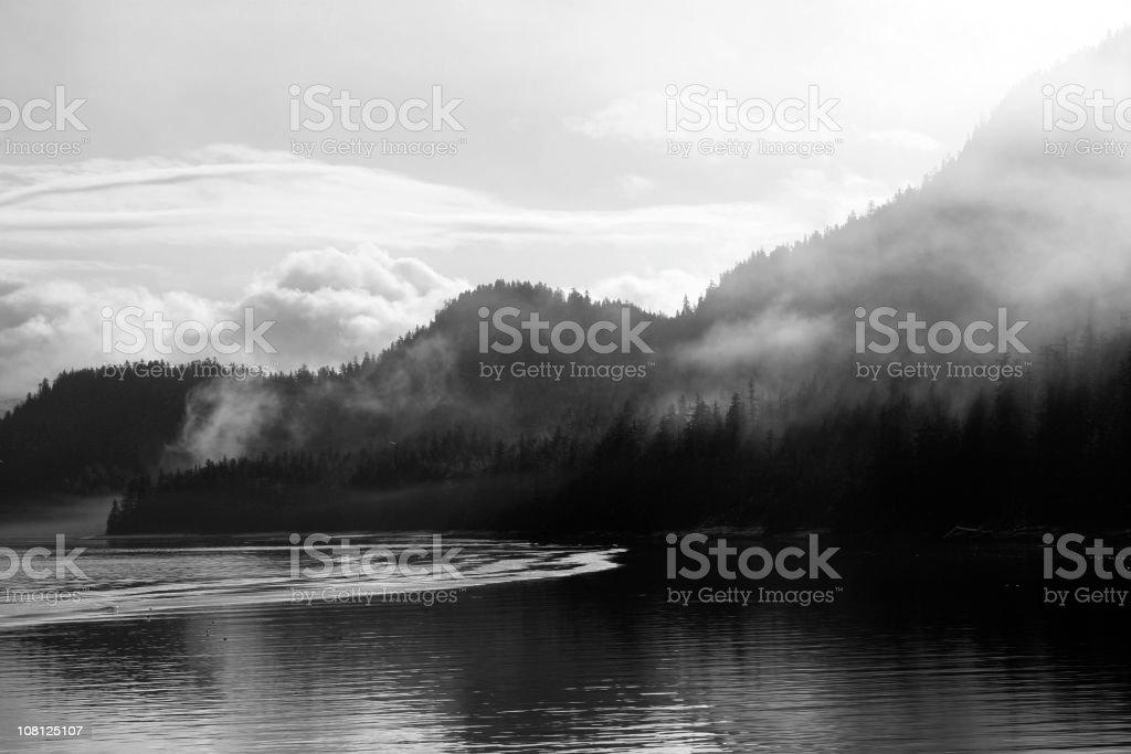 Alaska Landscape stock photo