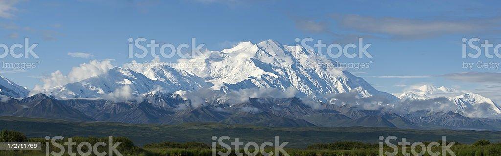Alaska range stock photo