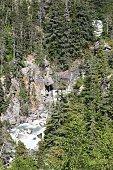 Alaska Skagway Whirlpool Canyon Falls aka Washing Machine