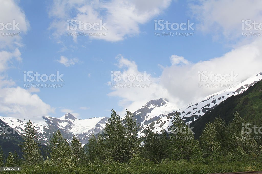 Alaska Sky stock photo
