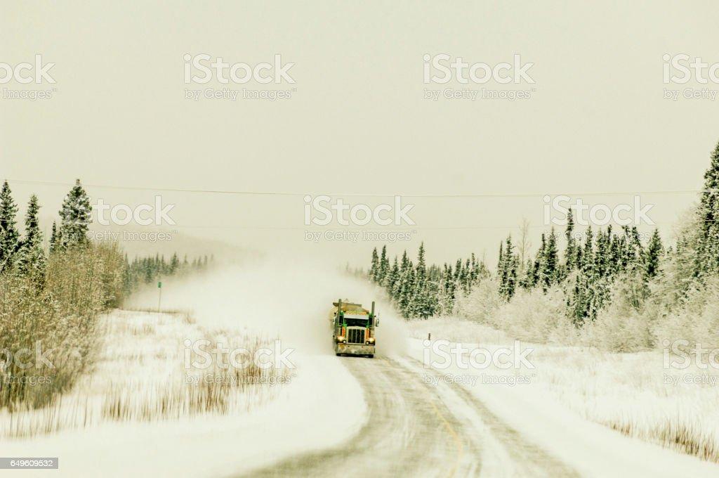 Alaska Transportation stock photo