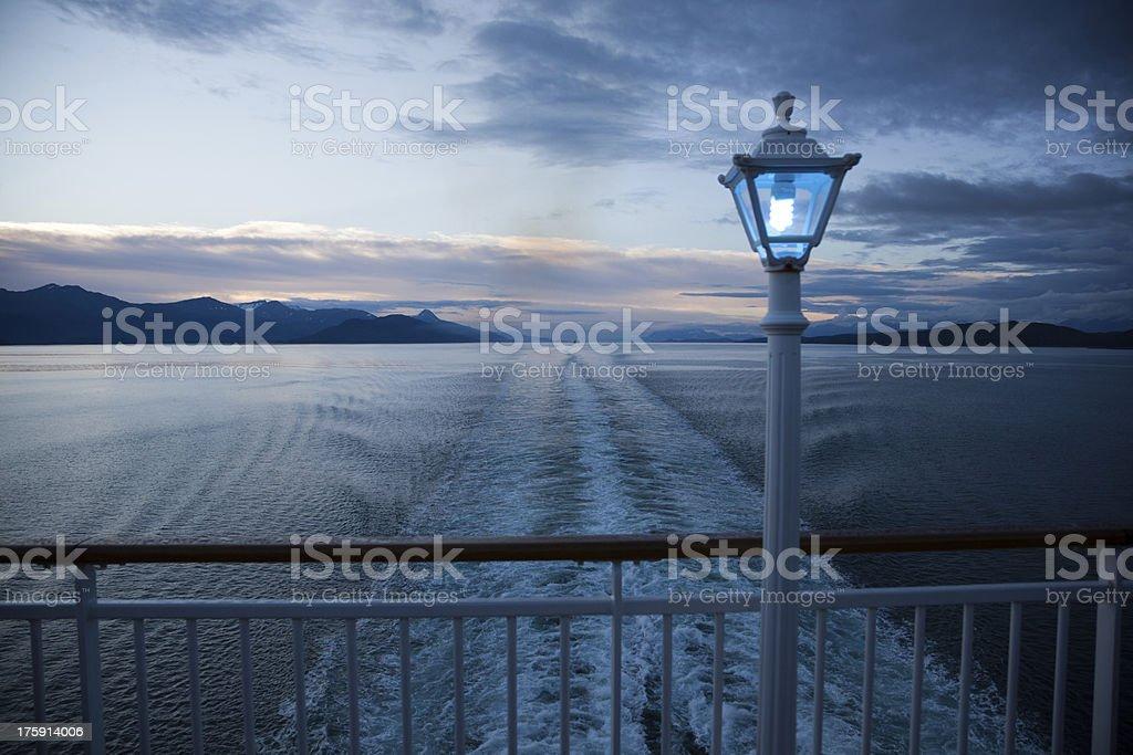 Alaska Twilight royalty-free stock photo