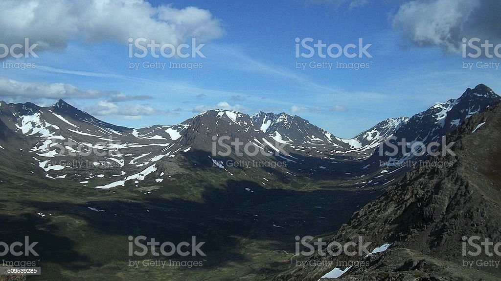Alaska Wilderness stock photo