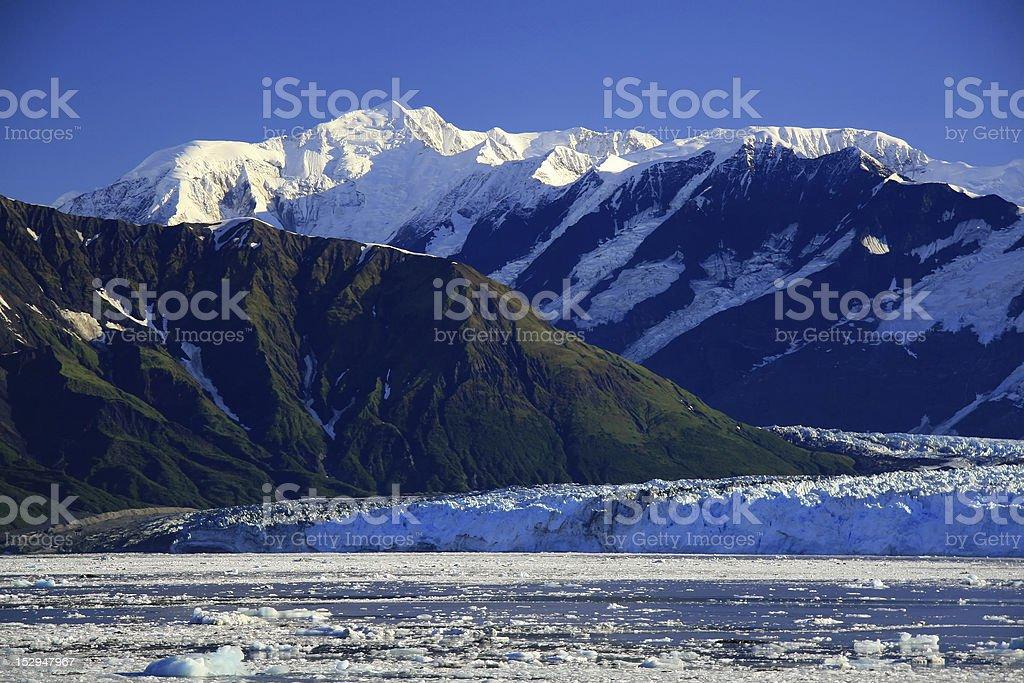 Alaska,Hubbard Glacier stock photo