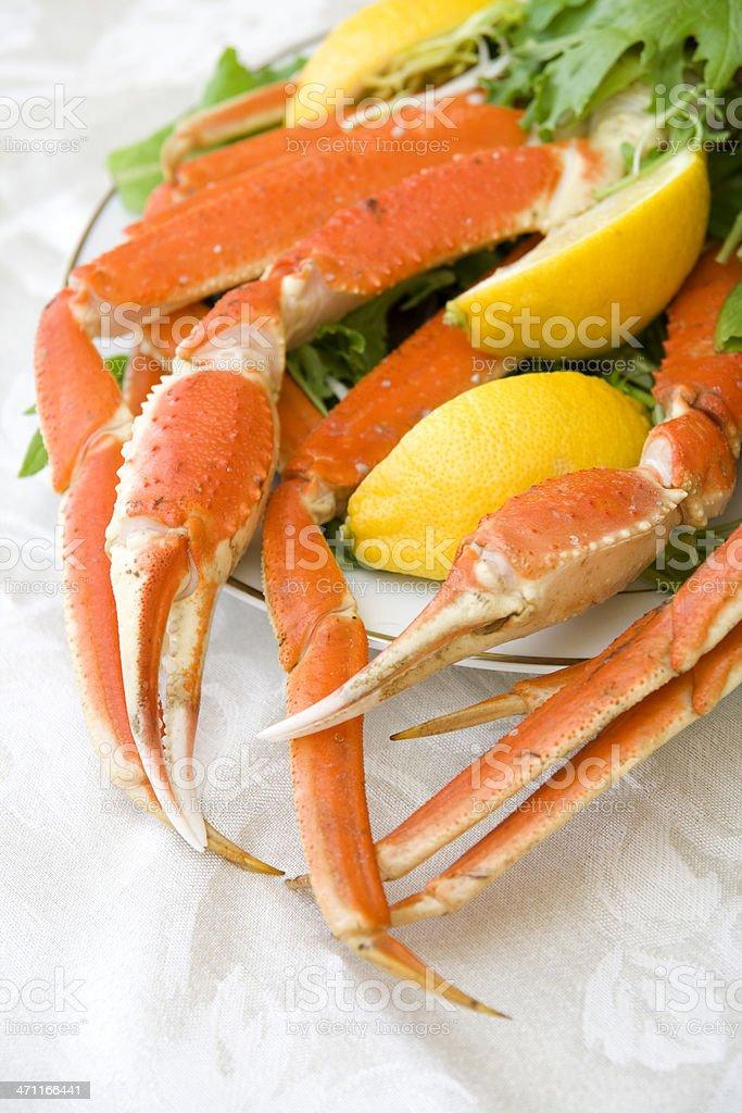 Alaskan Crab Legs royalty-free stock photo