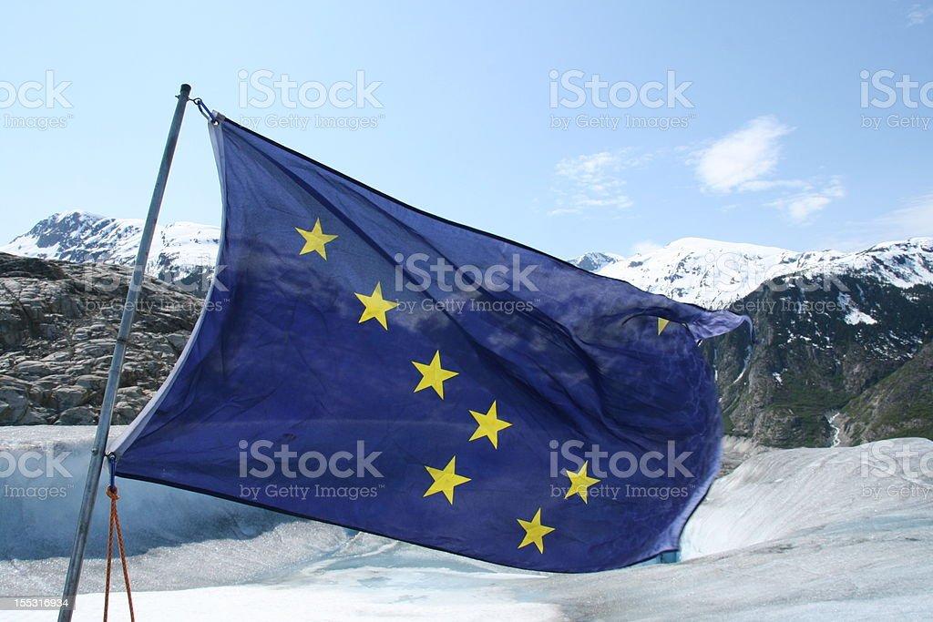 Alaskan Flag royalty-free stock photo