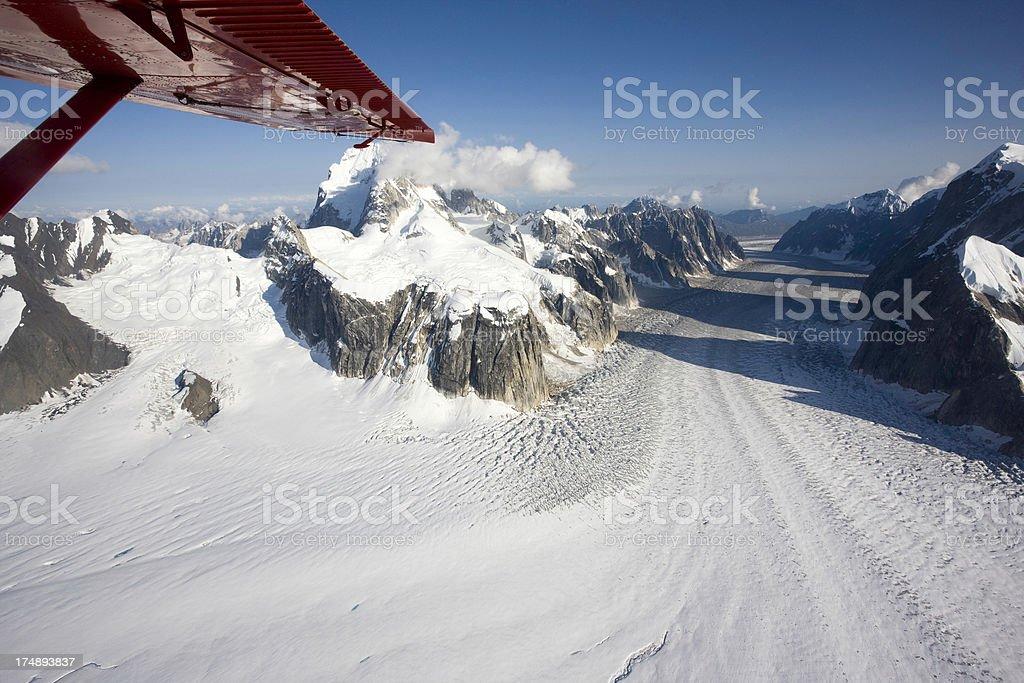 Alaskan Glacier royalty-free stock photo