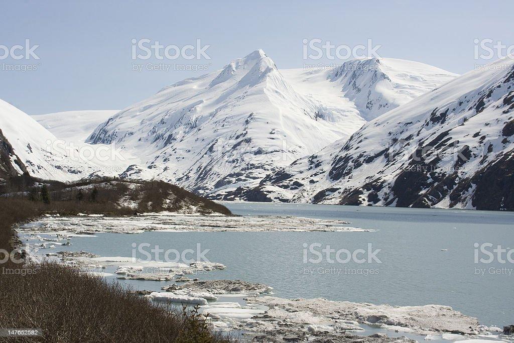 Alaskan Landscape royalty-free stock photo