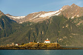 Alaskan lighthouse in the U.S. National Register of Historic Places