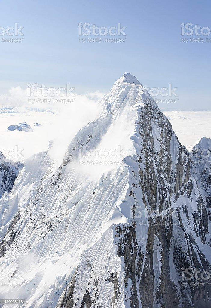 Alaskan Peak stock photo