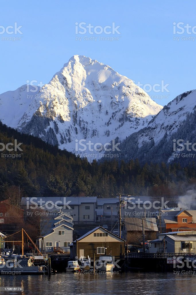 Alaskan View royalty-free stock photo