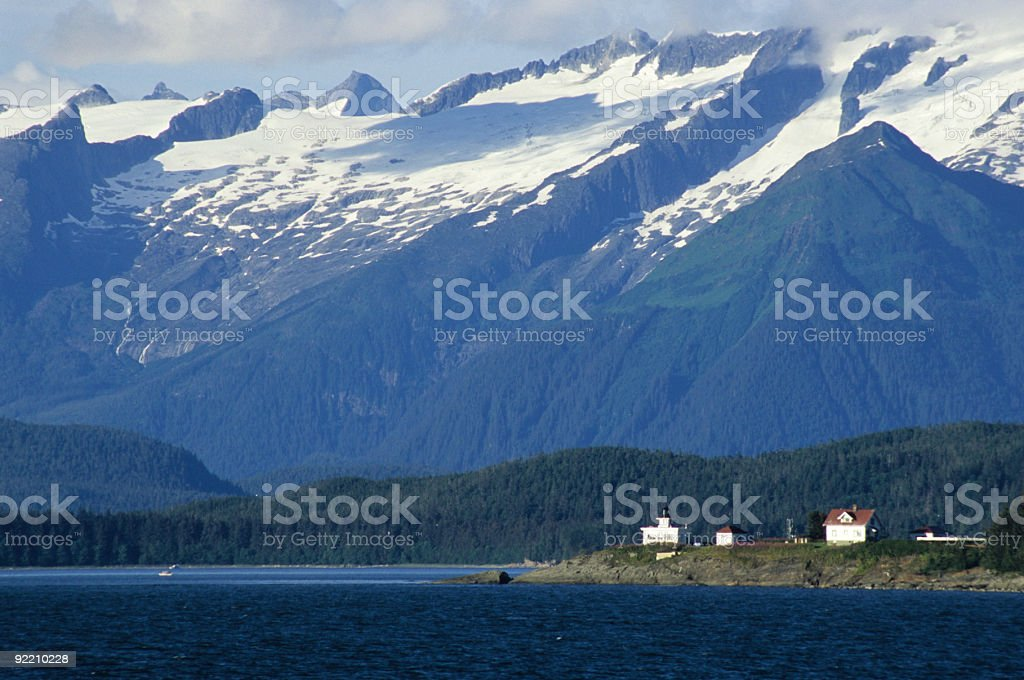 Alaska's Inner Passage stock photo