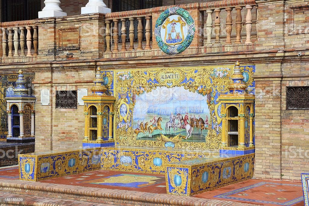 Albacete royalty-free stock photo