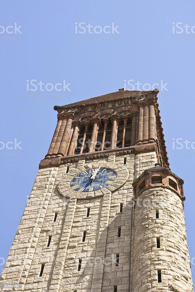Albany City Hall Clock Tower stock photo