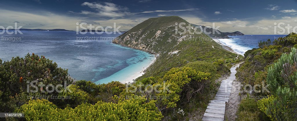 Albany Coastline stock photo