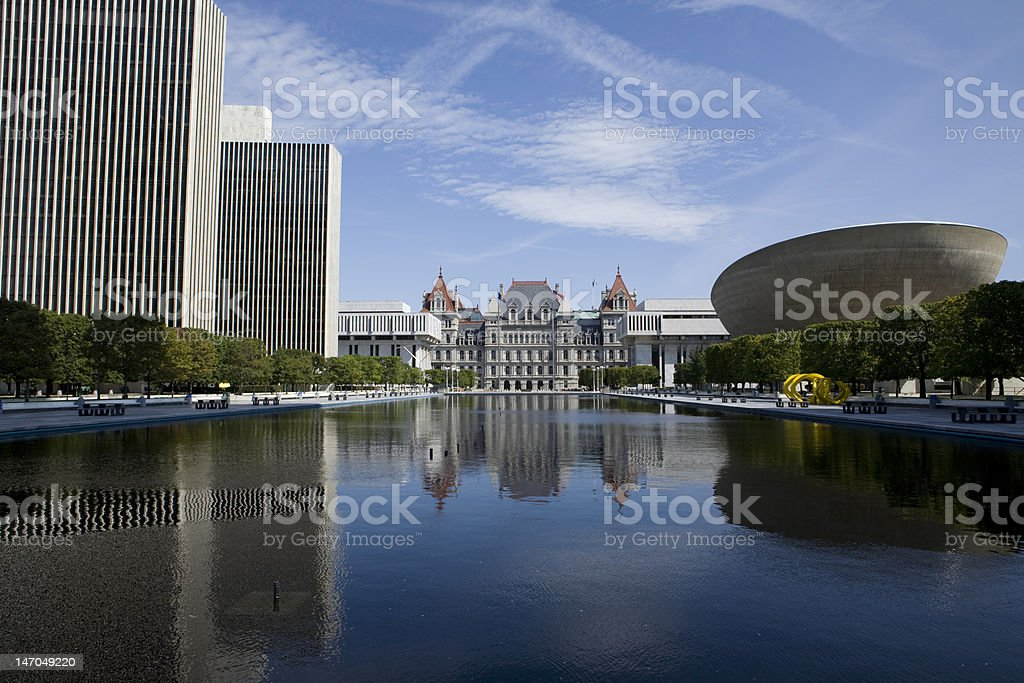 Albany New York royalty-free stock photo