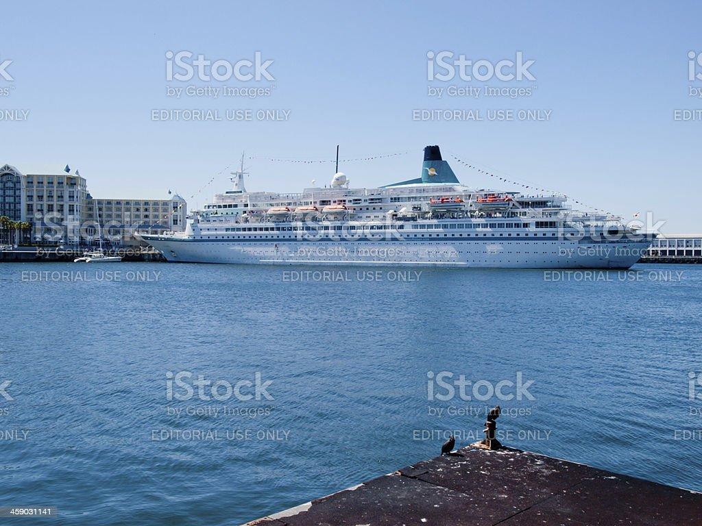 MS Albatros stock photo