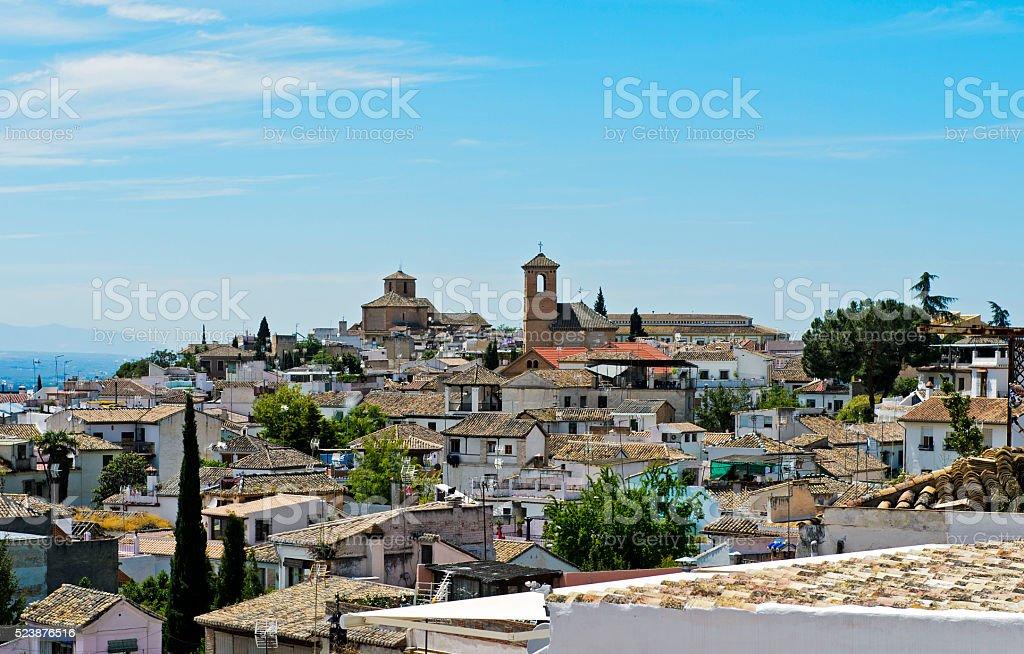 Albayzin, Granada, Spain stock photo