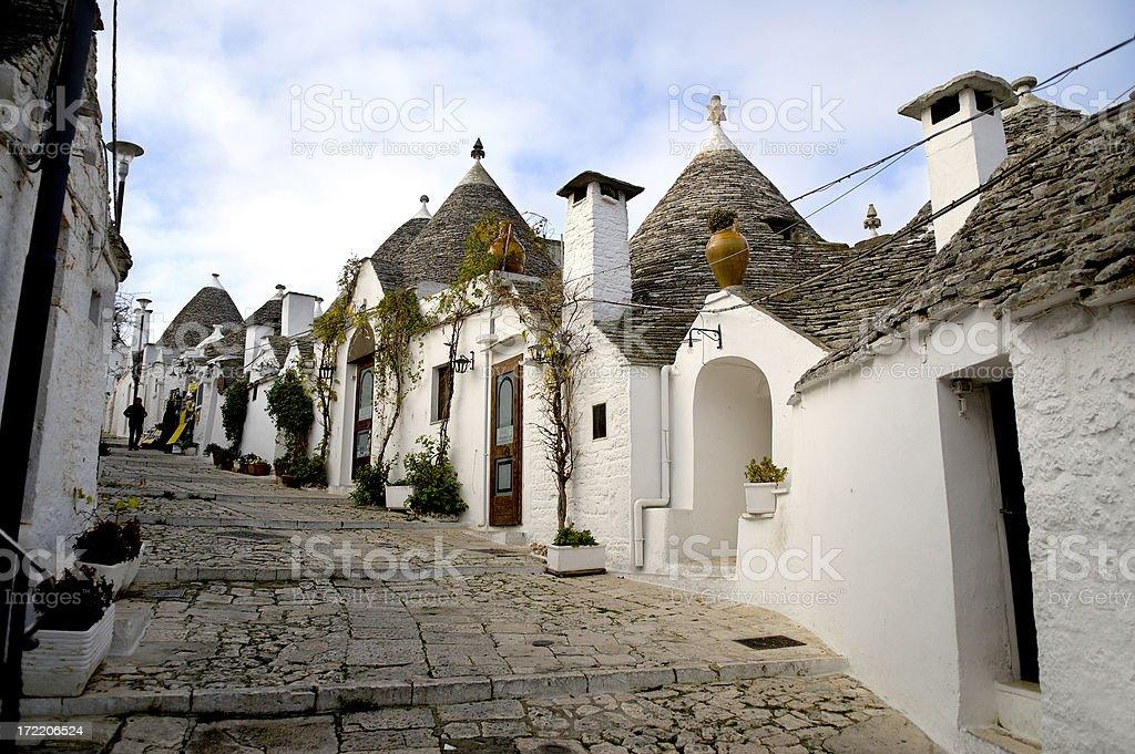 Alberobello Italy Trulli Village royalty-free stock photo