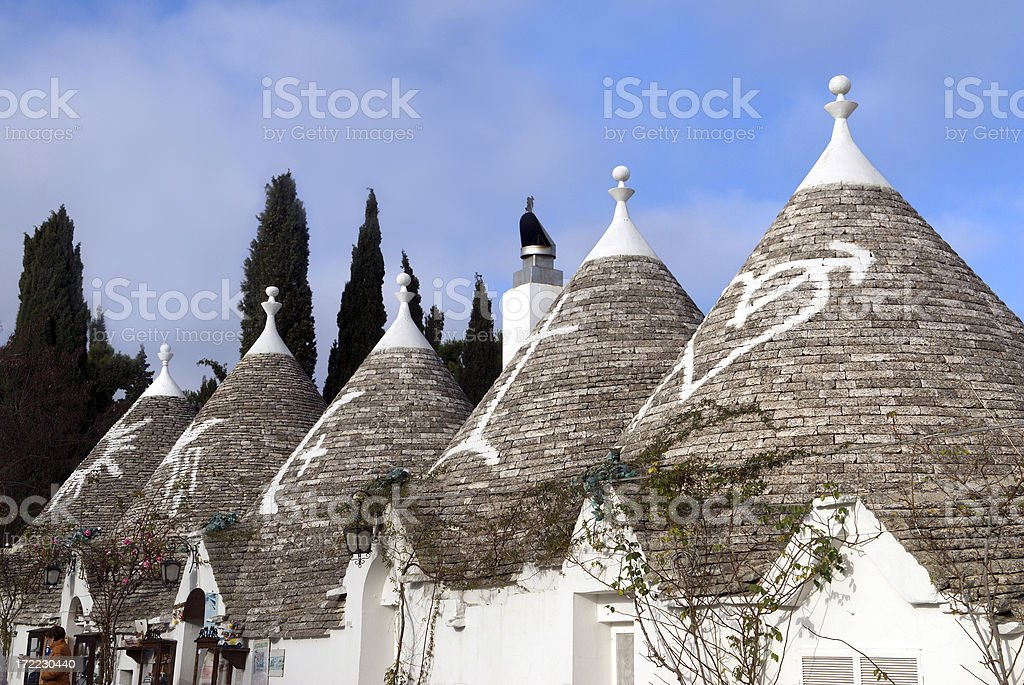 Alberobello Italy Trulli Village stock photo