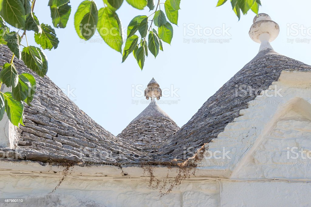 Alberobello stock photo