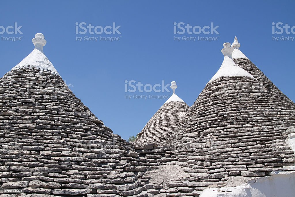 Alberobello, Puglia, Italy royalty-free stock photo