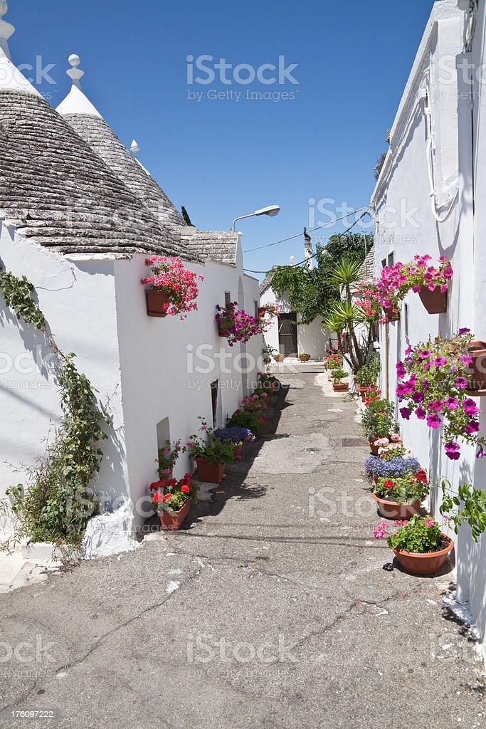 Alberobello, Puglia, Italy stock photo