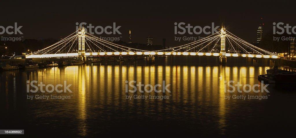 Albert bridge, London royalty-free stock photo