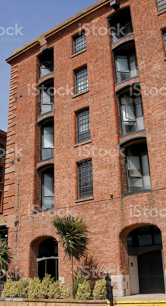 Albert Dock hotel royalty-free stock photo