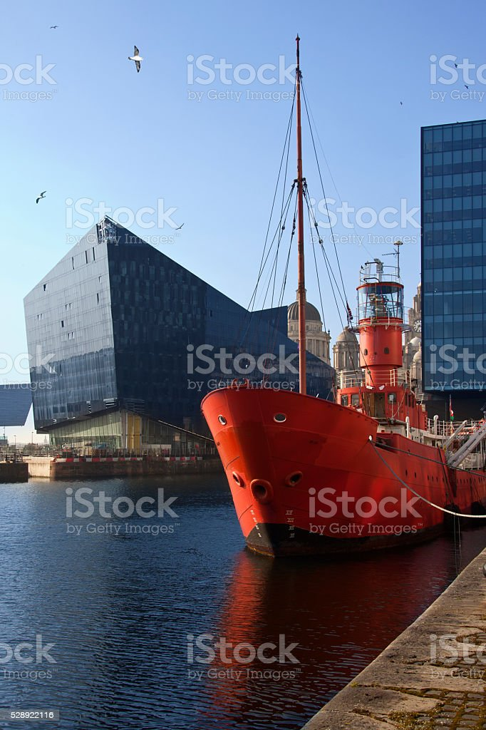 Albert Dock - Liverpool - England stock photo