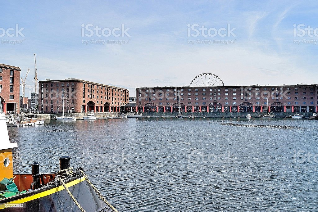 Albert Dock, Liverpool, England stock photo