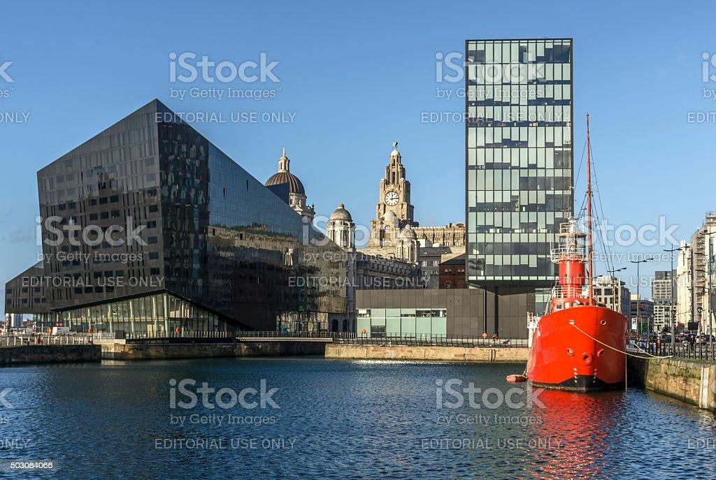 Albert Dock, Liverpool stock photo