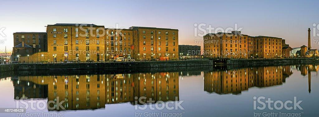 Albert Dock, Liverpoool stock photo