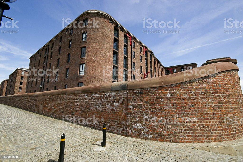 Albert Dock royalty-free stock photo
