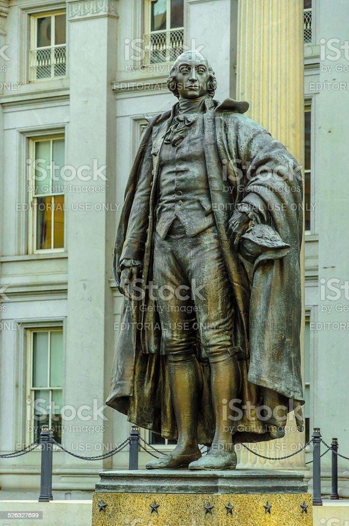 Albert Gallatin Statue stock photo