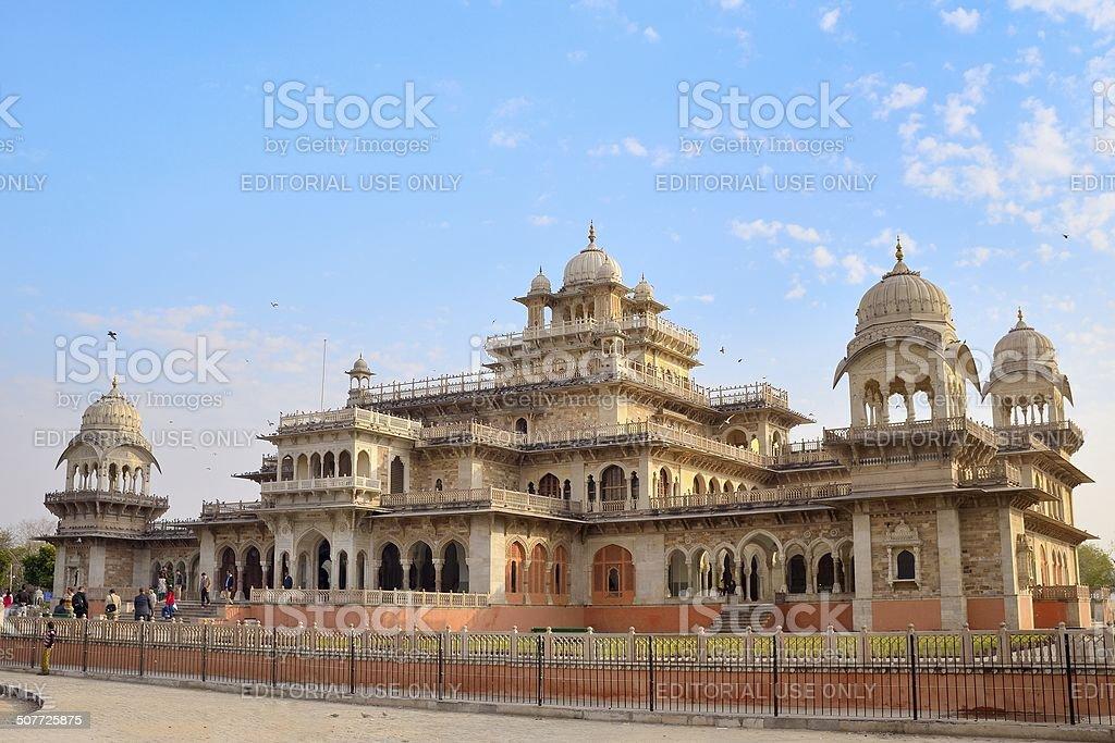 Albert Hall Jaipur stock photo
