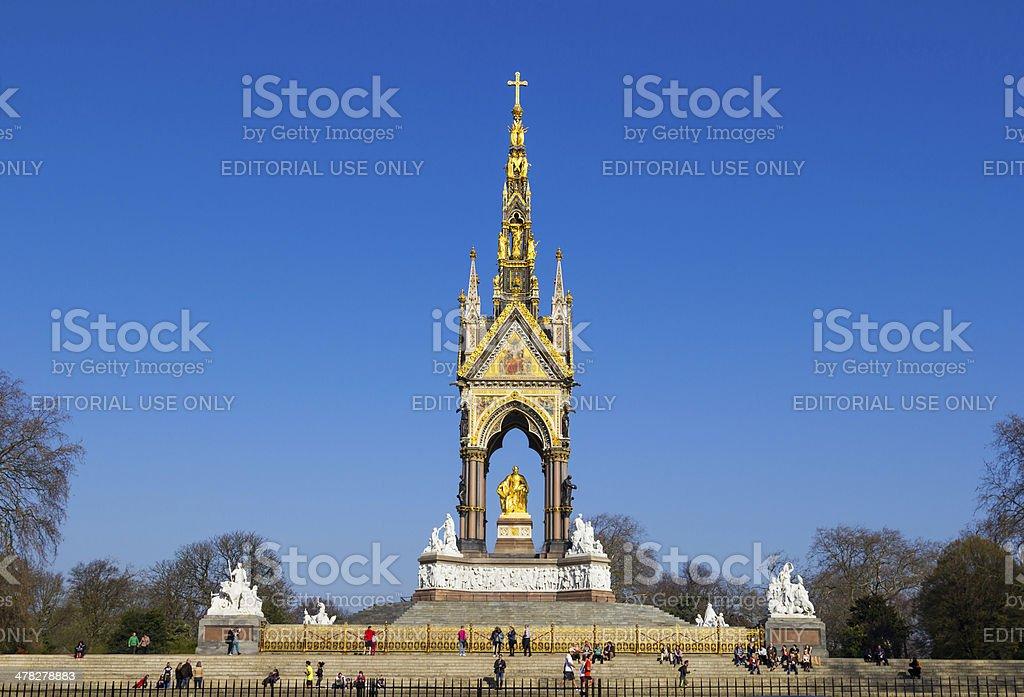 Albert Memorial During the Day stock photo