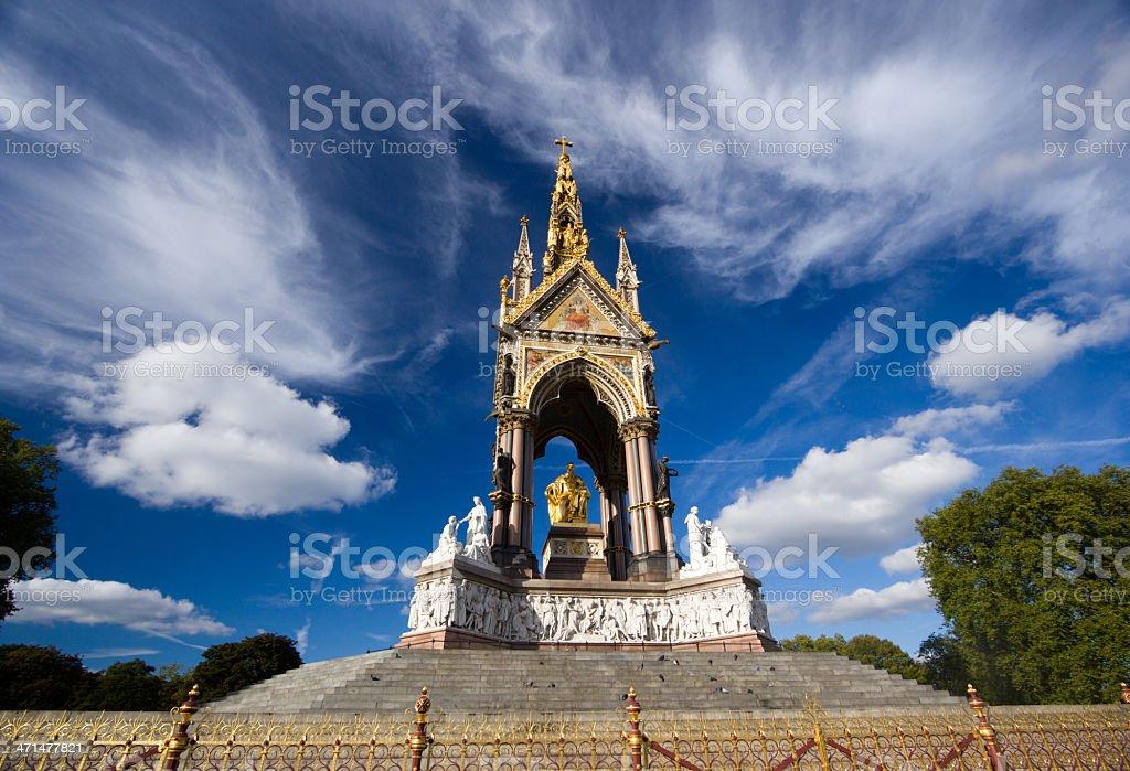 Albert Memorial in London, England royalty-free stock photo