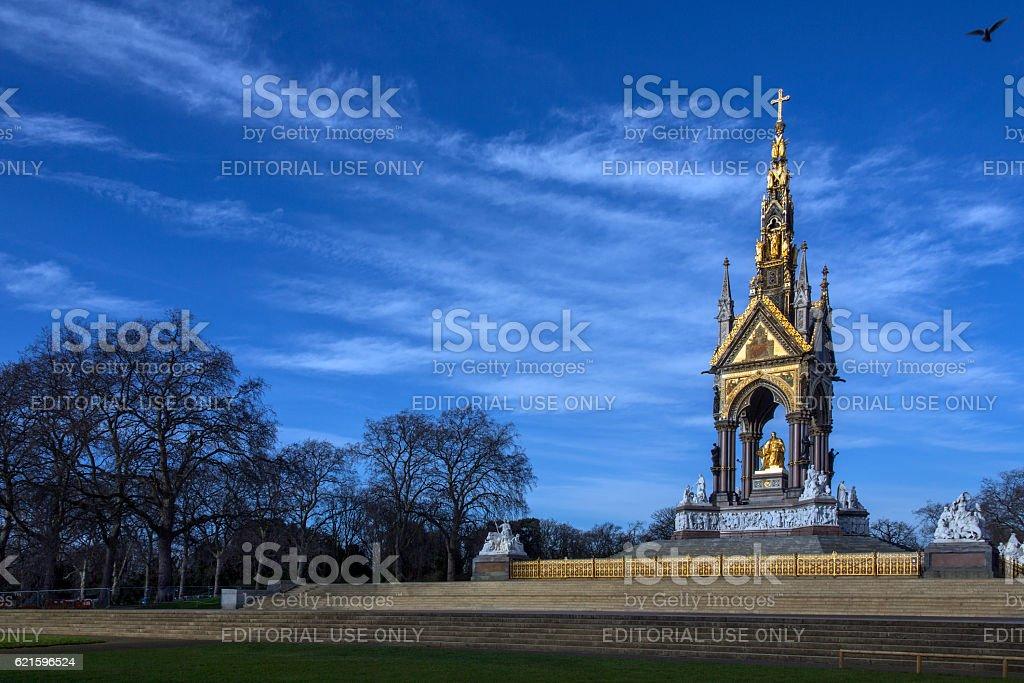 Albert Memorial - London - England stock photo