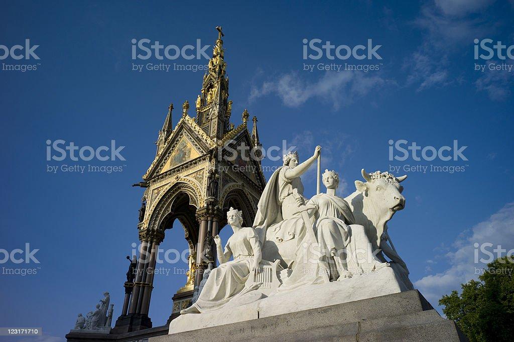 Albert Memorial royalty-free stock photo