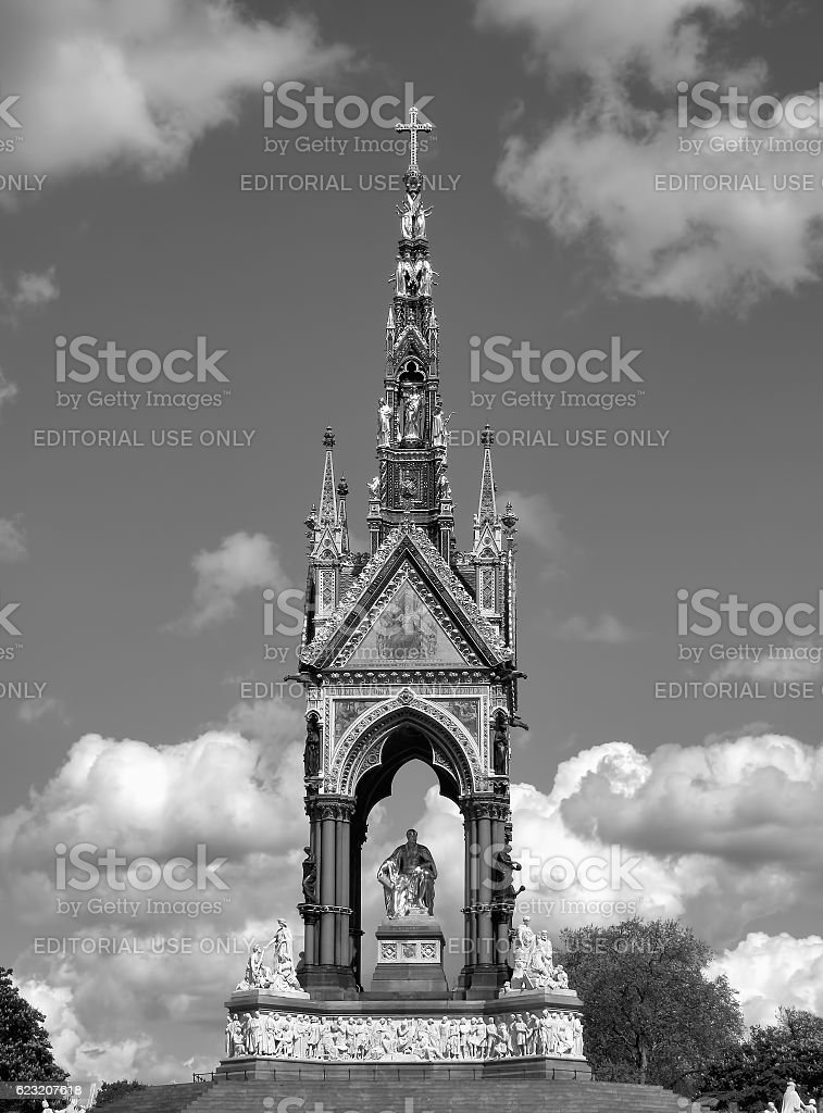 Albert Memorial stock photo