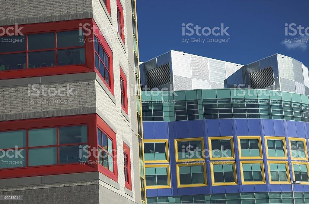 Alberta Childrens Hospital royalty-free stock photo