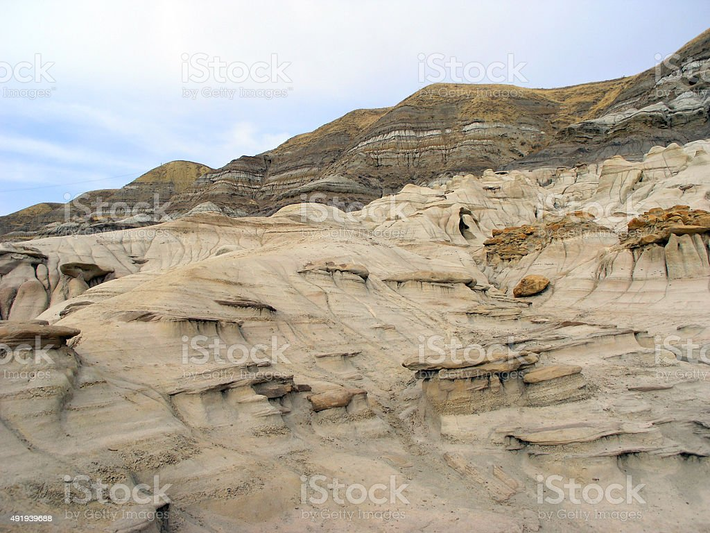 Alberta Desert stock photo