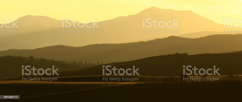 Alberta Foothills royalty-free stock photo