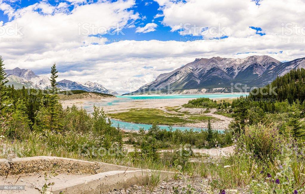 Alberta Landscape stock photo
