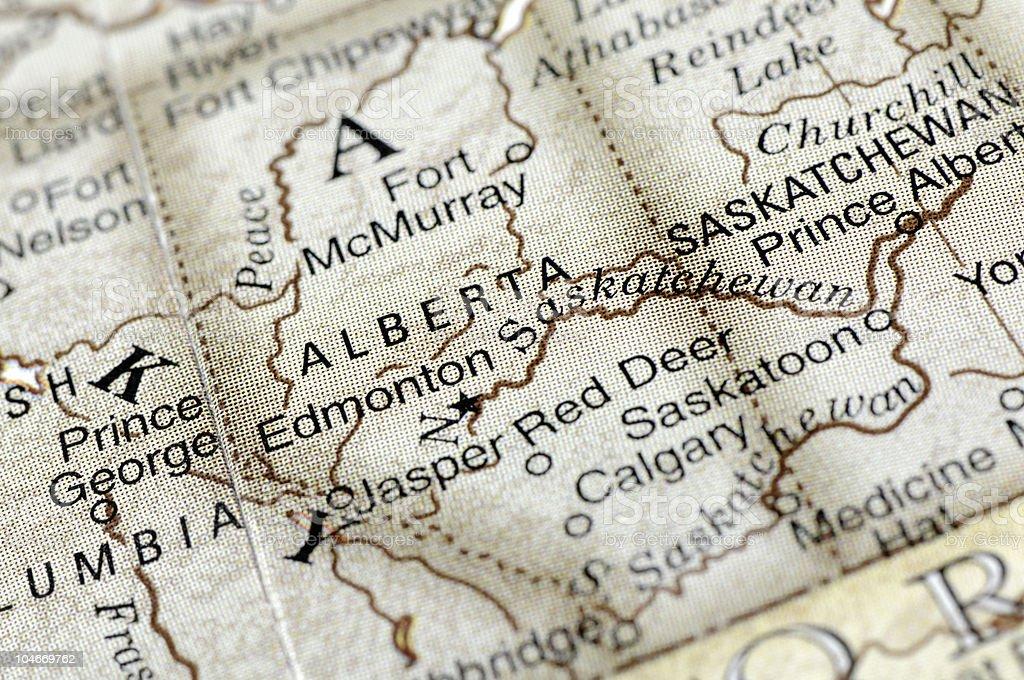Alberta royalty-free stock photo