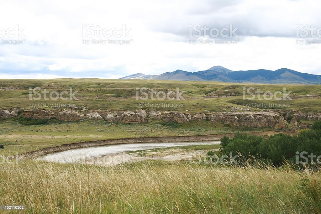 Alberta Prairiers stock photo