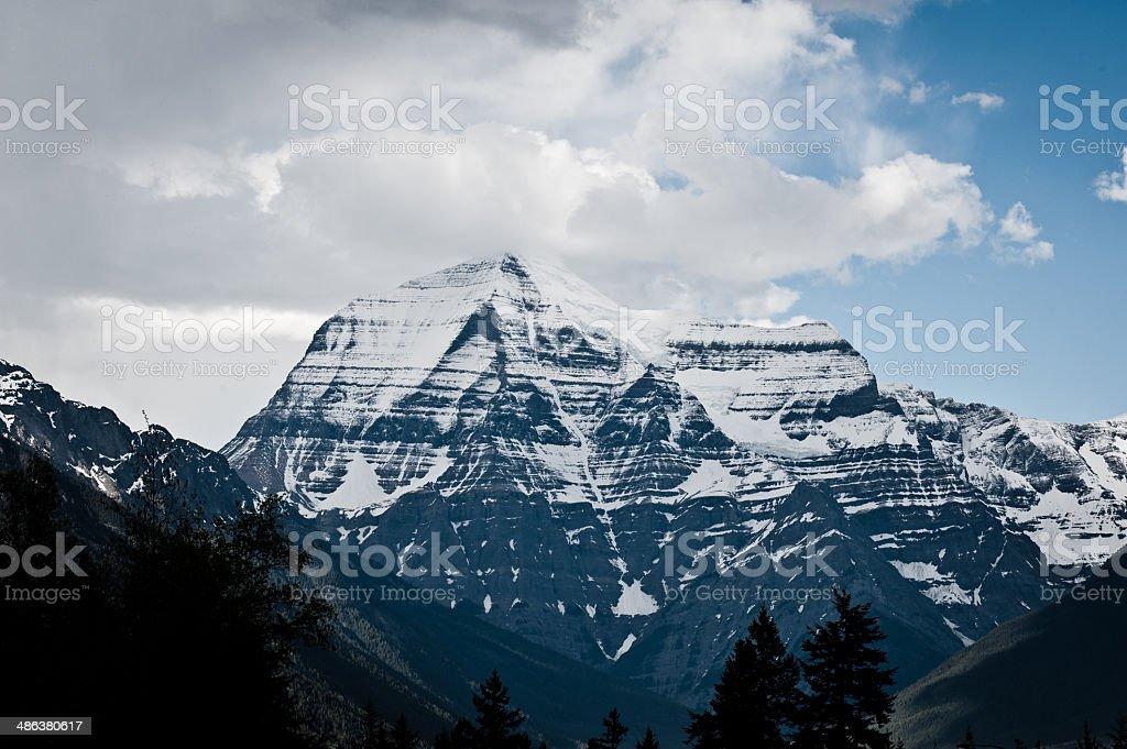 Alberta rockies stock photo