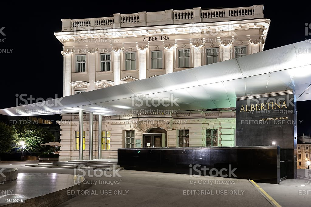 Albertina Museum, Wien - Austria stock photo