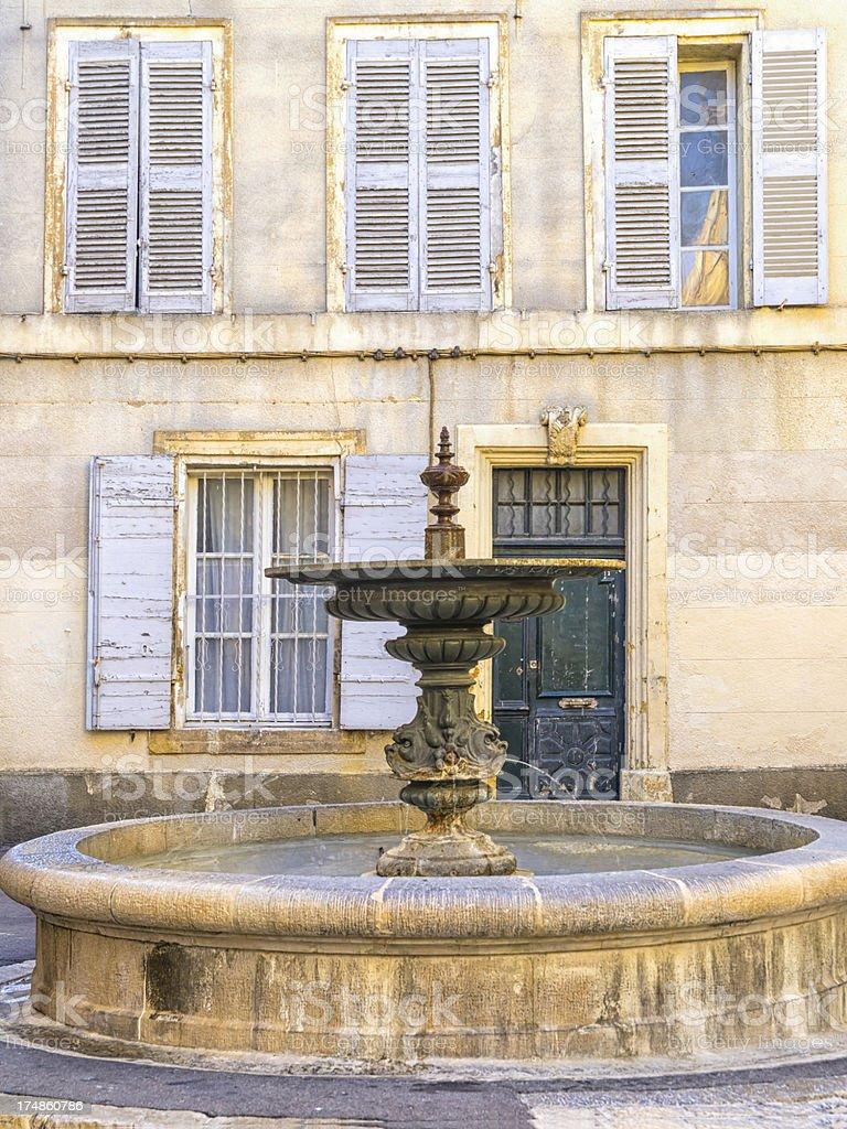 Albert's fountain royalty-free stock photo